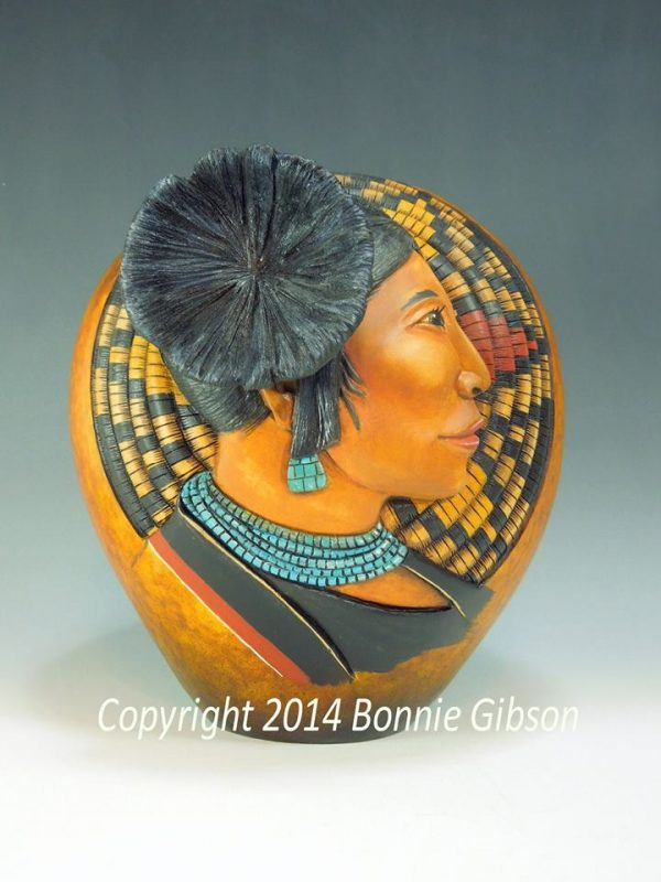 Carved Gourds - Bonnie Gibson / Arizona Gourds