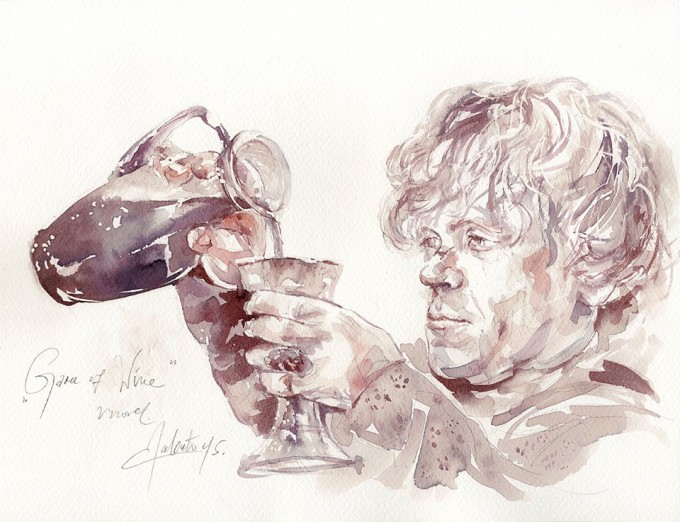 Game of Wine, Tyrion