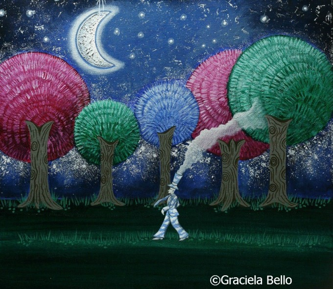 Graciela Bello- A dream in the forest