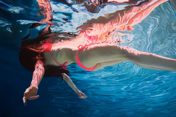 Hyperreal Underwater Paintings - Art People Gallery