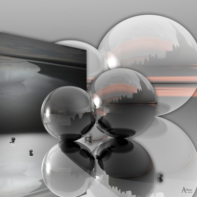 Light on the bay, 3D modelisation and photography