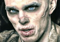 Nux. Nicholas Hoult as Nux from Mad Max Fury Road.