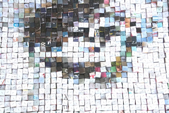 detail of 'Blurred identity'