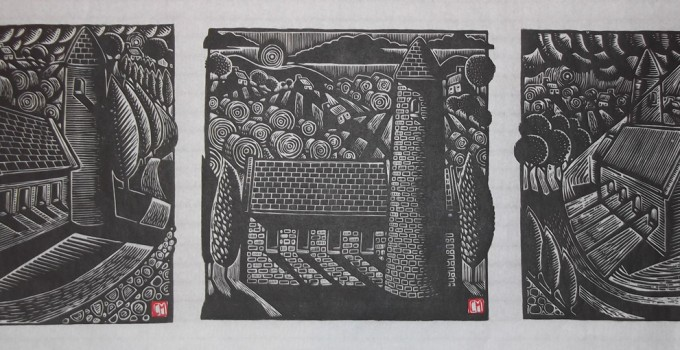 Woodcut, linocut, printmaking, print, connor maguire, conor maguire