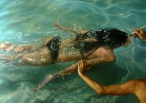 Incredibly Lifelike Paintings of Swimmers by Gustavo Silva Nuñez
