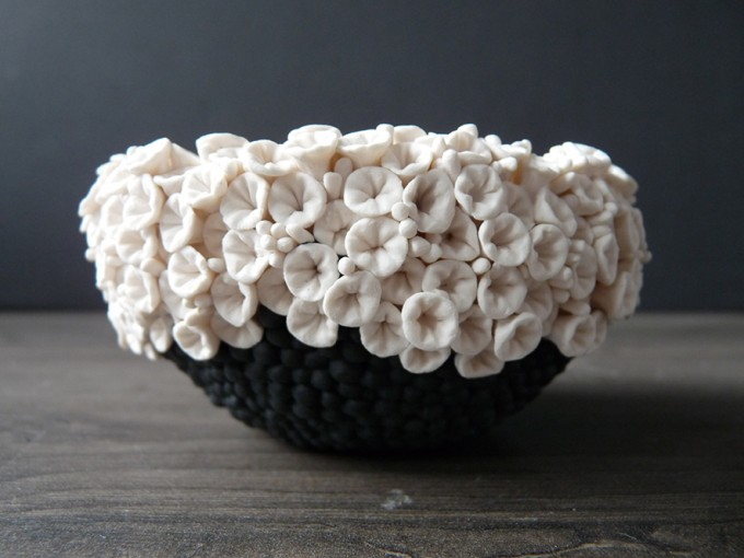 Blossom bowl.Lisa Biris Ceramics