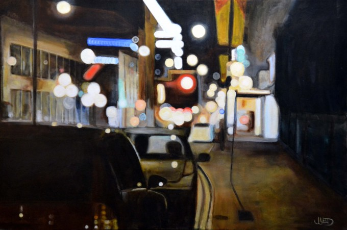 Without Options by Jonathan Gleed,Emotionally evocative paintings of everyday modern life, by Jonathan Gleed.