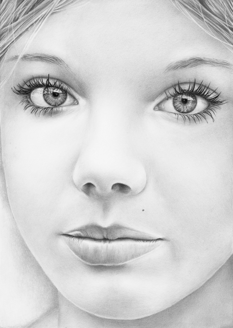 Realistic pencil portraits by Lidia Springer - Art People ...