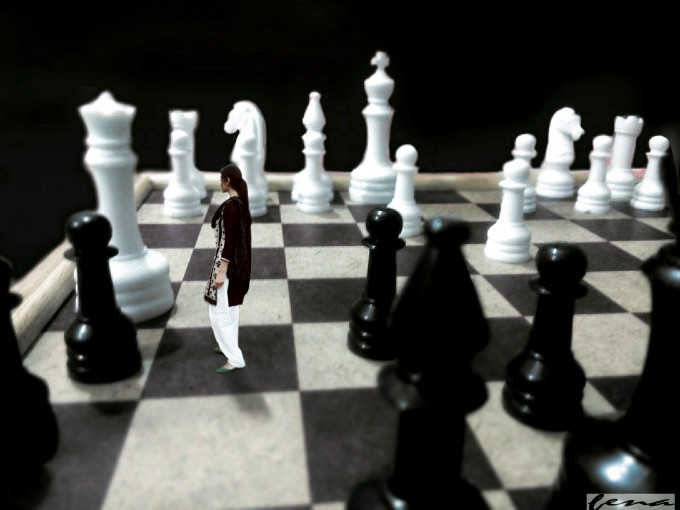 a well placed pawn can be more powerful.