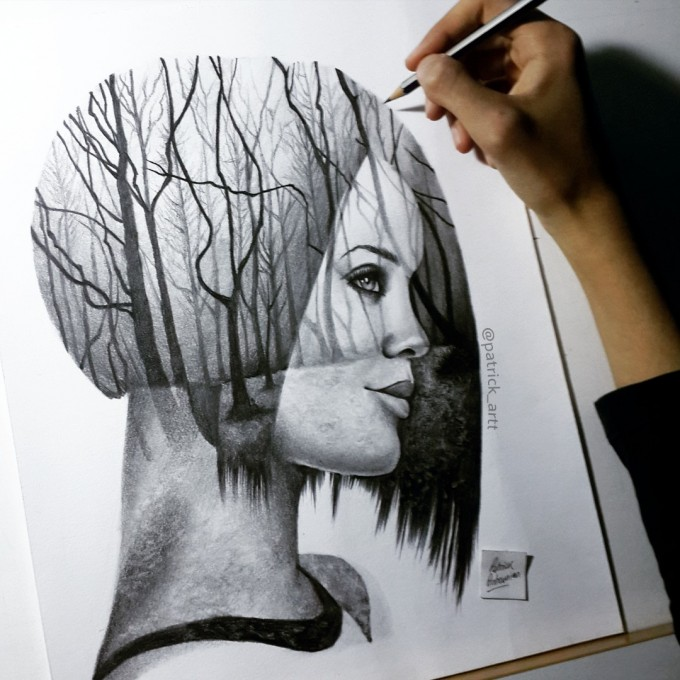 A mind without imagination is just a forest without trees