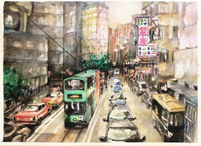 imagewatercolor , Hong Kong,#artpeople,online art galleries,www.artpeoplegallery.com