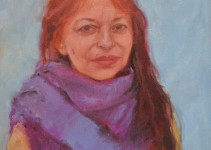 painting my mother oil