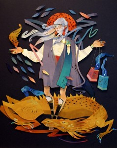 Morgana Wallace |Cut Paper Sculpture