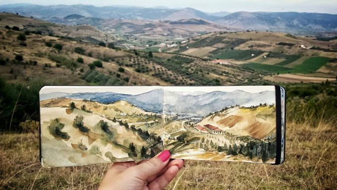 The hills of Thessaly