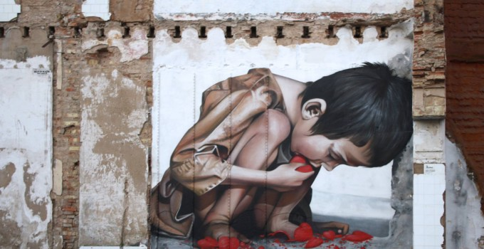 Street Art painter Man o Matic