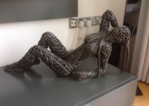Richard Stainthorp    Human sculptures From Wire