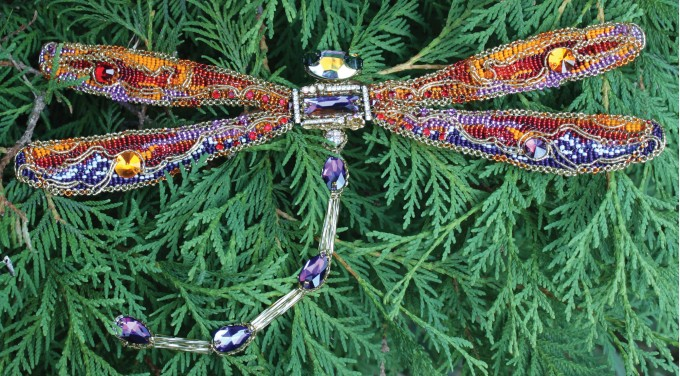 Dragonfly The brooch