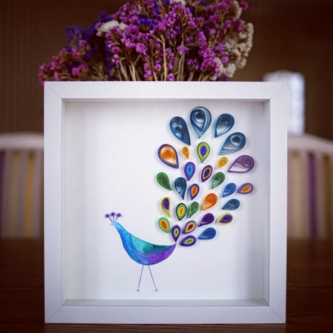 Lively Peacock