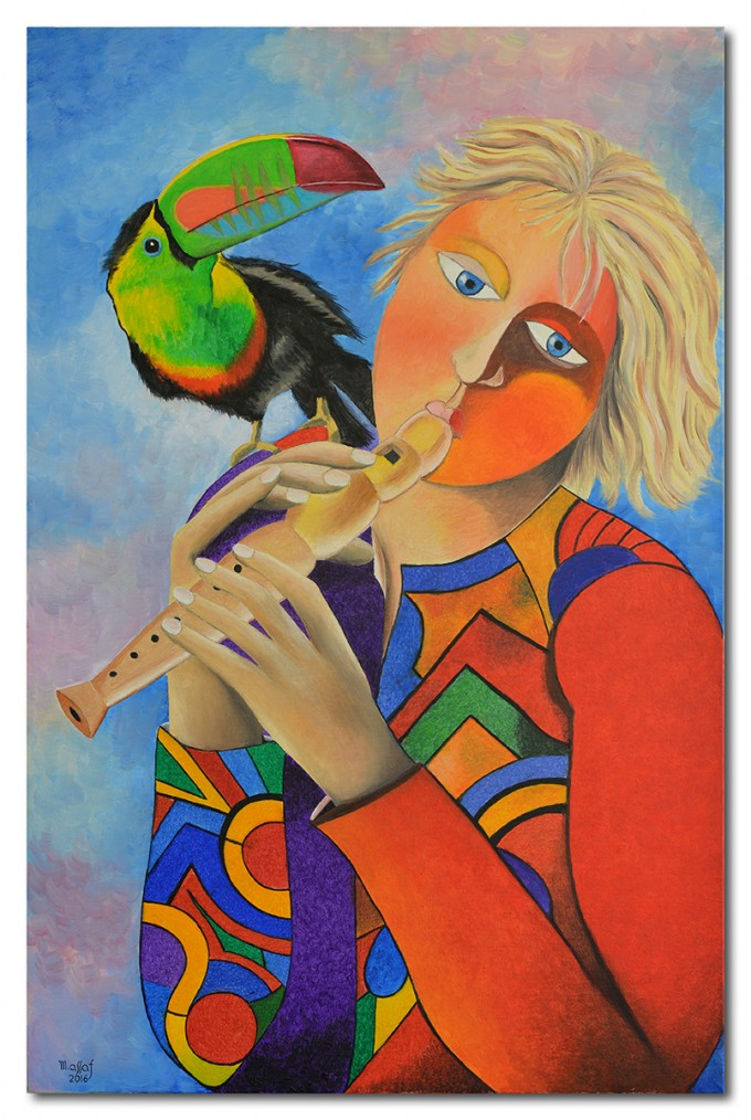 Saltimbanque and the Toucan of Music
