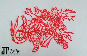 My Papercutting Artwork- Jun Teh Artwork.