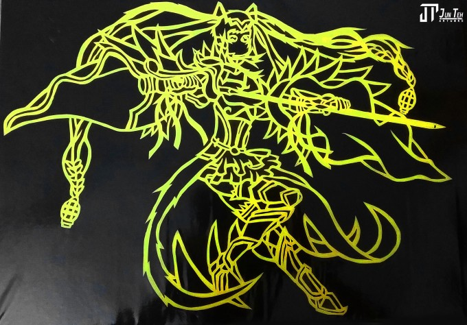 Jpeg,My Papercutting Artwork- Jun Teh Artwork.