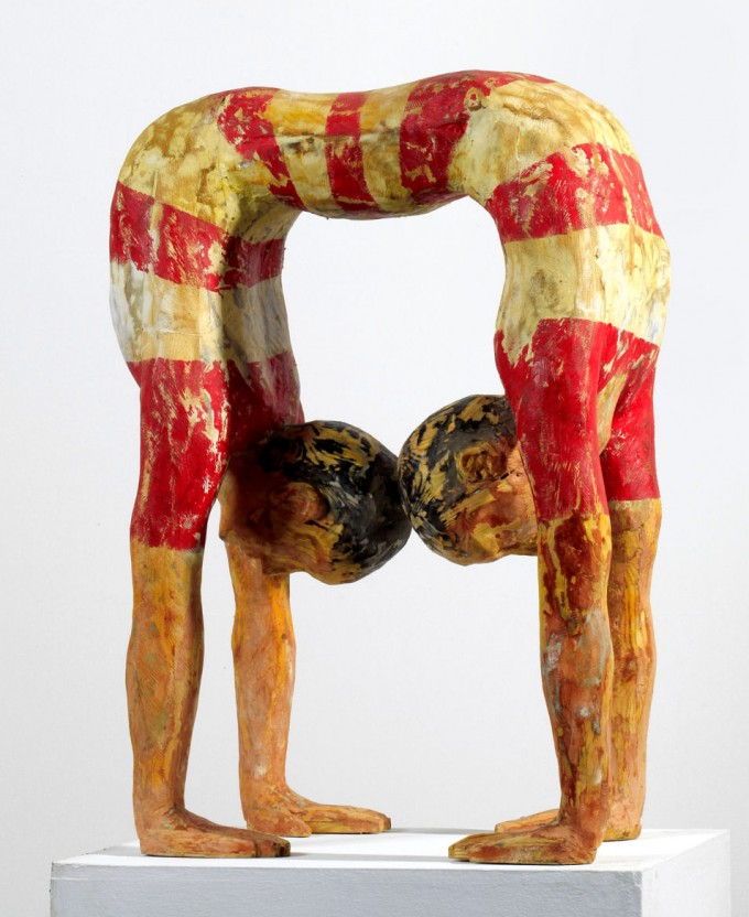 Contortionists of Siam_2011_wood_110x80x50cms