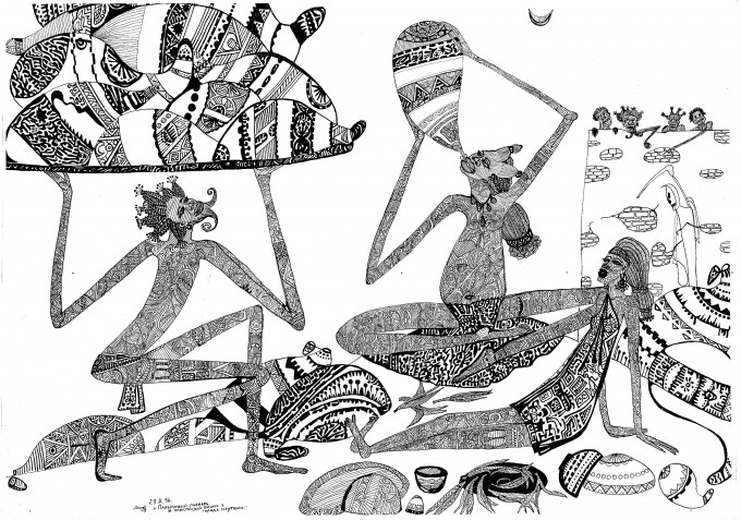 The Palmwine Drinker and Dead Winemaker near the City of the Dead