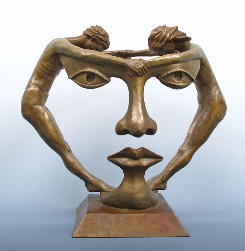 Michael alfano figurative fine art sculpture people