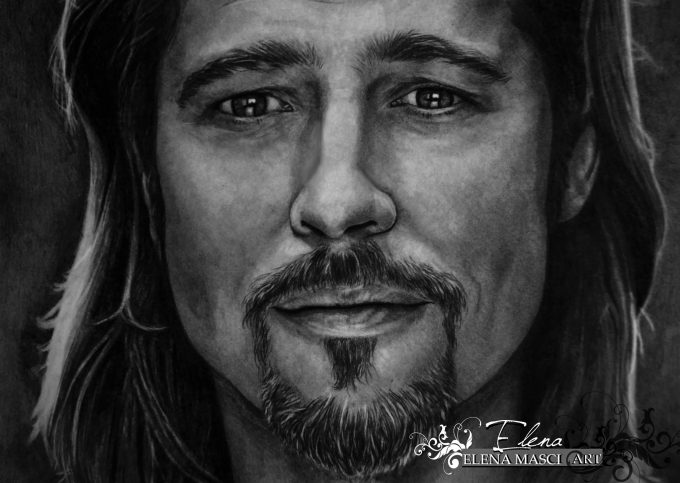 "Brad Pitt ""the eyes of love"