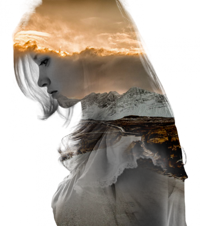 Double exposures by Nevessart