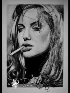 Elena Masci | pencil portraits | Art People Gallery