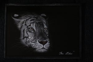 Art of glass engraving by Ivana Zivkovic