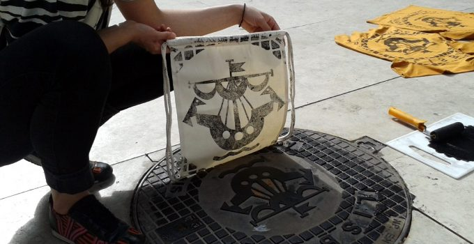 We make direct Printing from city drain covers