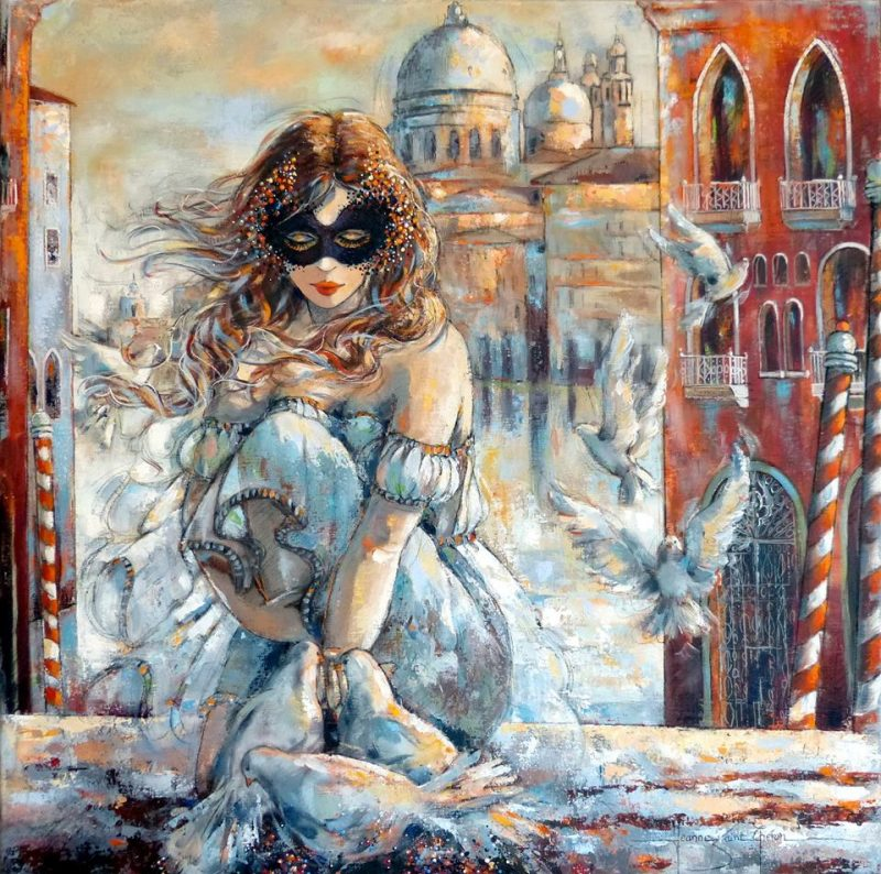 Jeanne Saint Cheron | Figurative painter