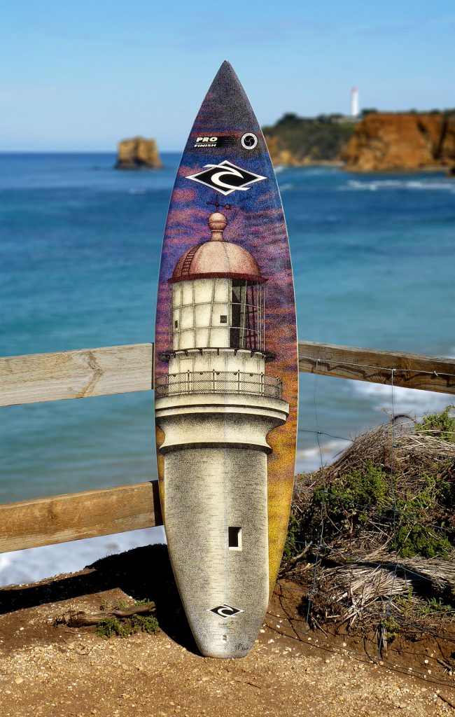 Split Point Lighthouse, Aireys Inlet,Old surfboards given new life as artwork,#artpeople