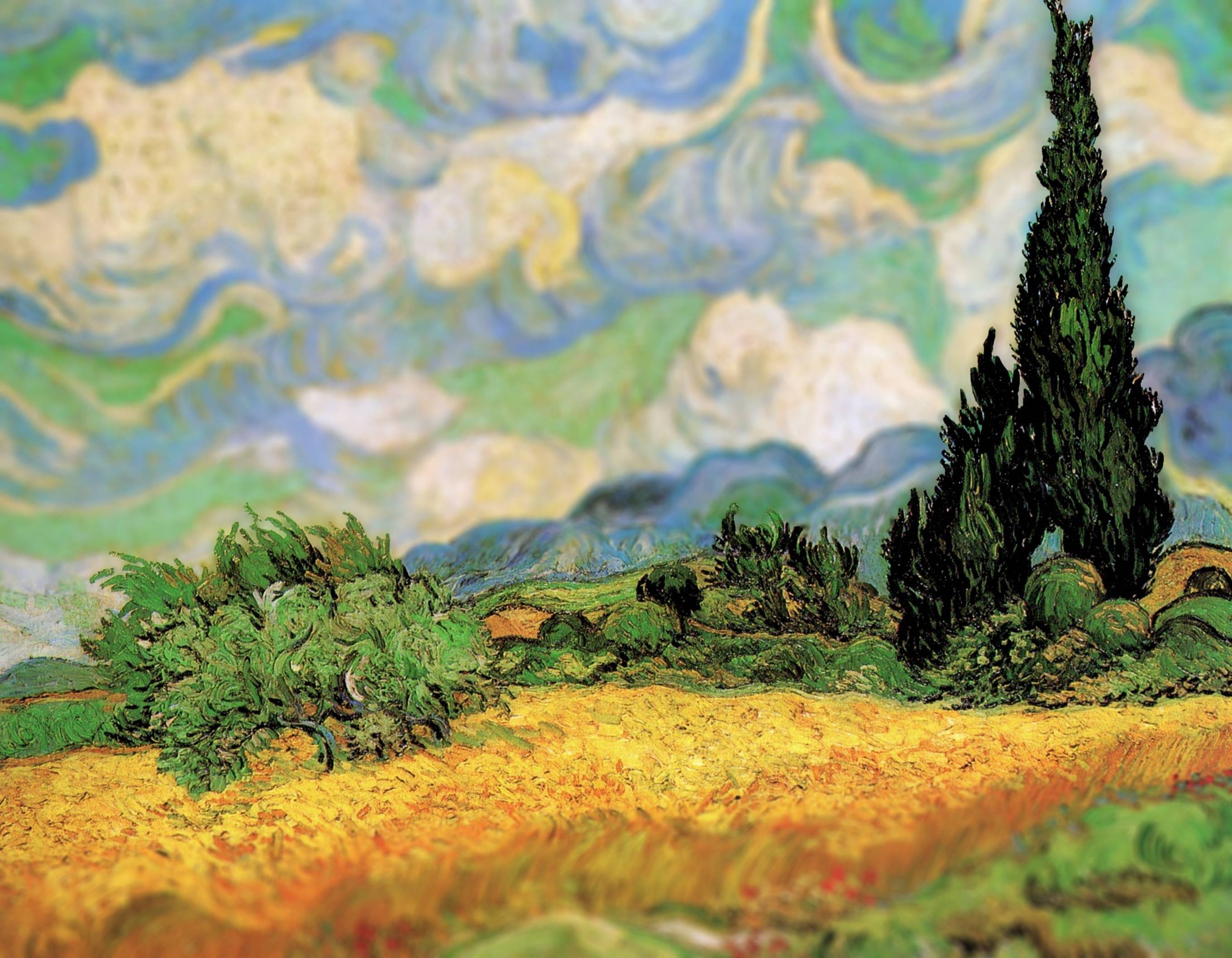 Vincent Van Gogh's Art as Seen Through a Tilt-Shift Lens. #artpeople