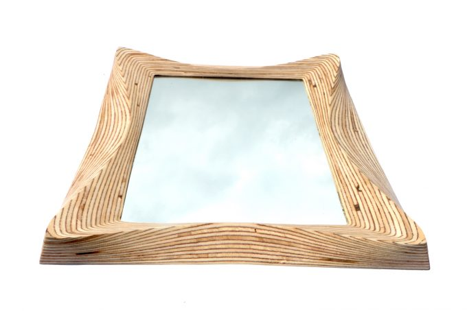 wooden mirror, wooden bedroom mirrors, bathroom mirror, living room mirror, carved wooden mirror, natural wooden mirror frame, Surrey woodsmiths, surreywoodsmiths, surrey wood smith