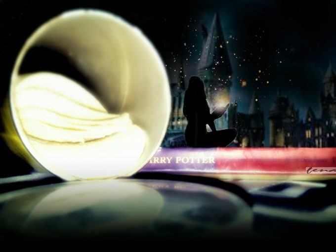 Harry Potter Hogwarts Pringles