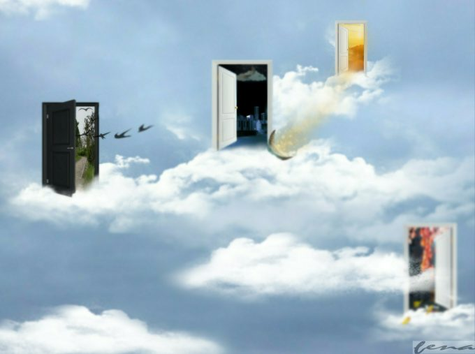 """""""There will always be a door to the light."""""""