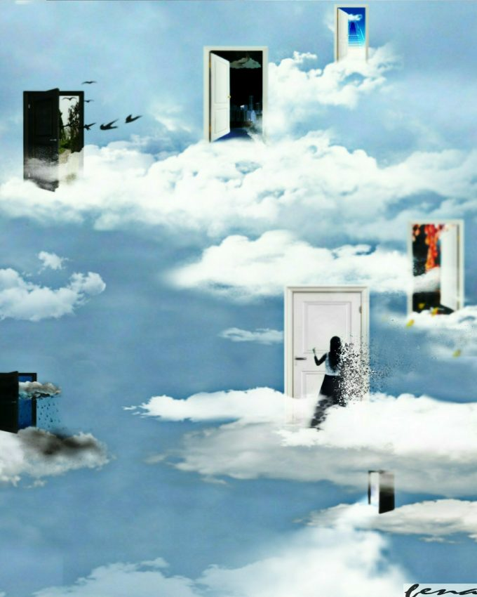 My life is revolving door between fantasy and reality. I get lost inside my nightmares only to be found in my dreams.