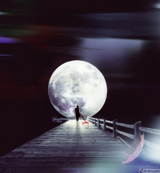 Walk barefoot, Listen to the wind, Chase the moon... Be magic!