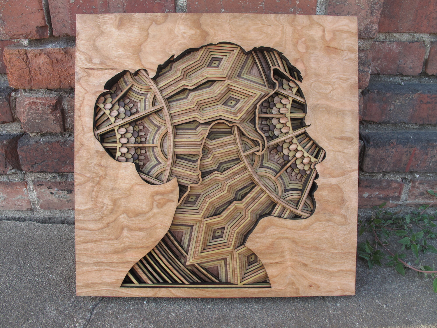 Laser-Cut Wood Relief Sculptures by Gabriel Schama #artpeople