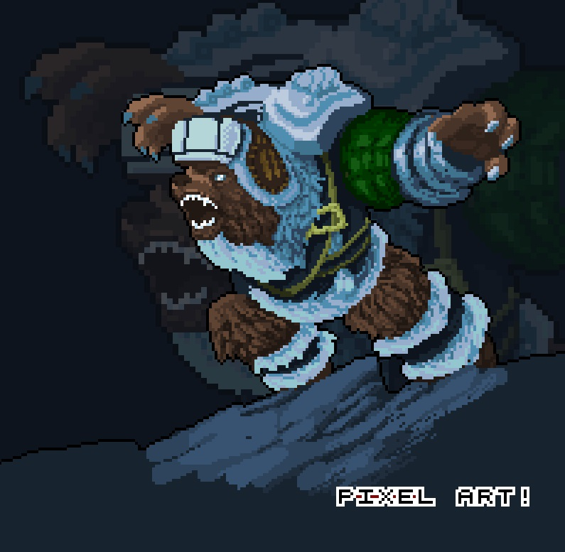League Of Legends Pixel art