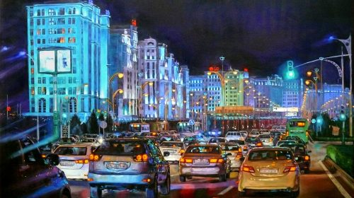 Jennet Norman | Artist from Turkmenistan