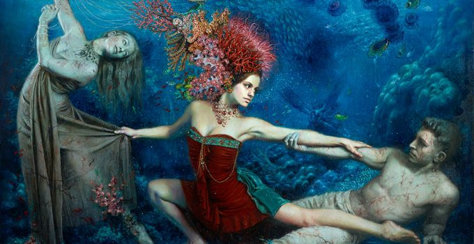 Alexandra Manukyan -Surrealist Painter