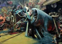 Benjamin Burkard -Painting Irrational Machines