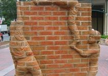 Brad Spencer -Brick Sculptures