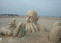 Carl Jara -Sand Sculpture