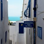 Traditional alleys in Sidi Bou Said