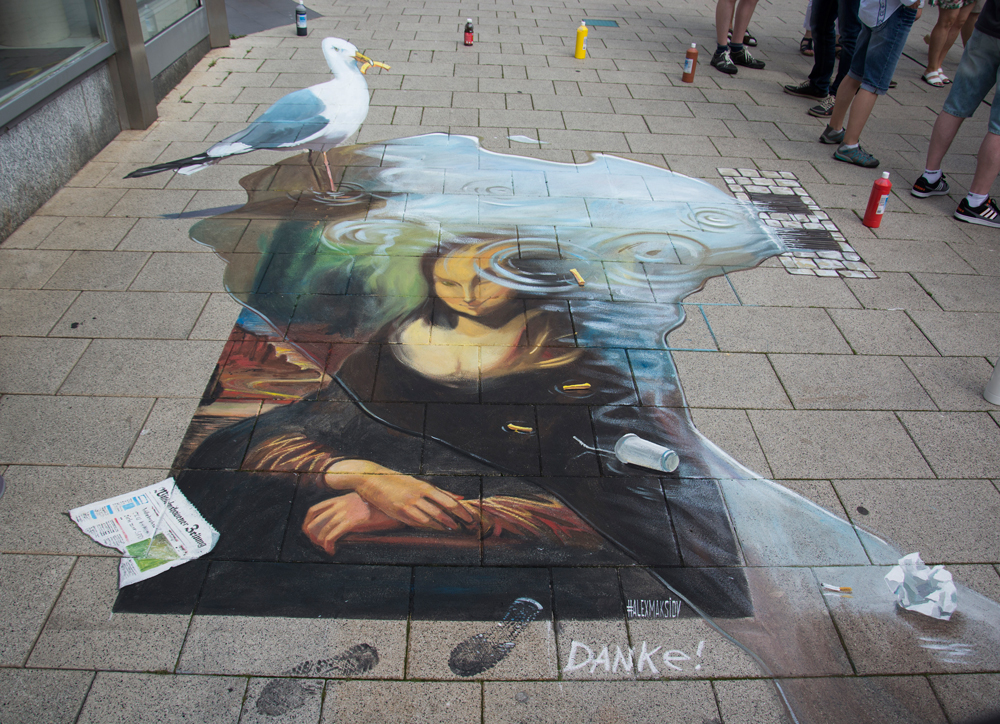 Mural envy by ukrainian artist alex maksiov in drammen for 3d mural painting tutorial